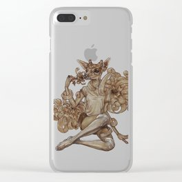 Under a Spell Clear iPhone Case
