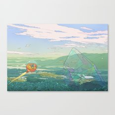 Giant Crystal Canvas Print