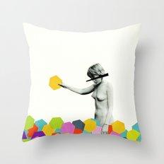 Strange Phenomenon Throw Pillow