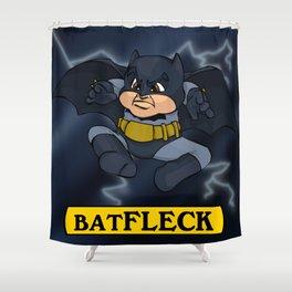 Batfleck Shower Curtain