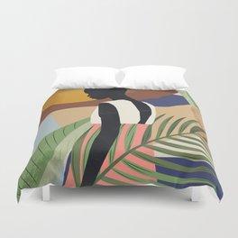 Tropical Girl 2 Duvet Cover