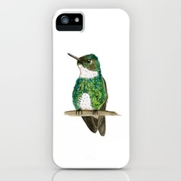 White-throated Hummingbird iPhone Case