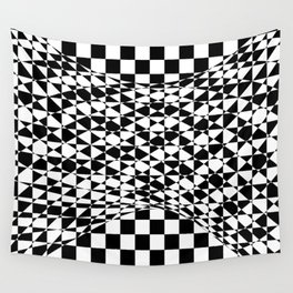 bw welle Wall Tapestry