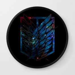 Wings Of Justice: Galaxy Wall Clock