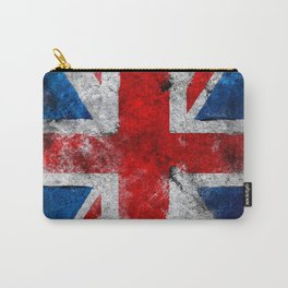 Great Britain grunge flag Carry-All Pouch