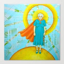 Super mabel Canvas Print