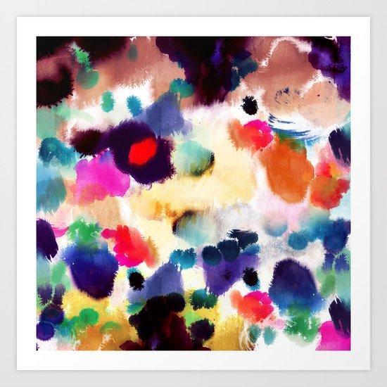 Ink Mix II Art Print