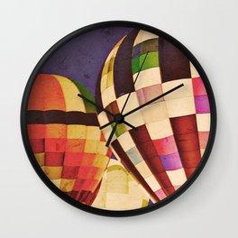 Night Riders Wall Clock