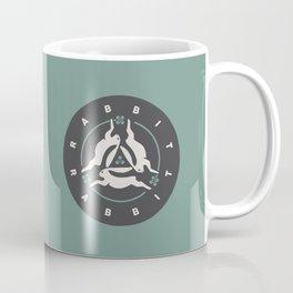 Rabbit Rabbit Three Hares Coffee Mug