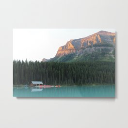Lake Louise, Banff, Alberta, Canada Metal Print