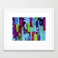 batik Framed Art Prints featuring Batik by Gabbie Braun