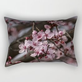 Spring Cherry Tree Blossoms - II Rectangular Pillow