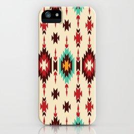 American Native Pattern No. 103 iPhone Case