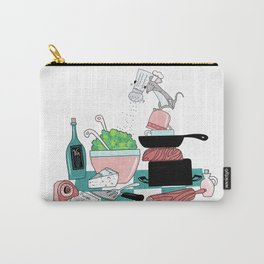 The Hungry Mouse Carry-All Pouch