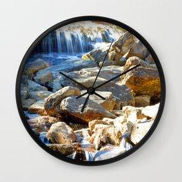 Lower Falls Wall Clock
