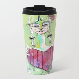 Have A Little Heart Metal Travel Mug