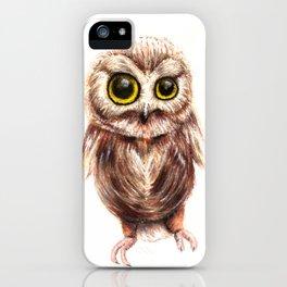 cute owl - gufo - hibou - búho iPhone Case