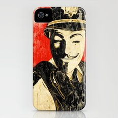 Anonymous Police Officer Slim Case iPhone (4, 4s)