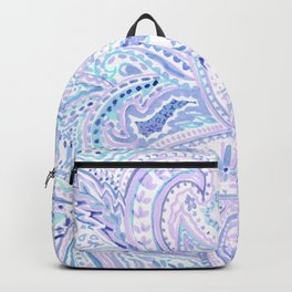 Painted paisley Backpack