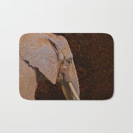 Compassion - Elephant and Quote Bath Mat