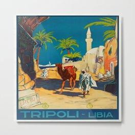 Vintage poster - Tripoli Metal Print