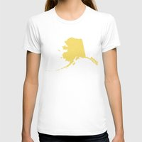 alaska T-shirts featuring Alaska by Hunter Ellenbarger