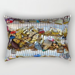 love locks Rectangular Pillow