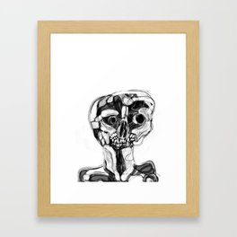 Memory Portrait IV Framed Art Print