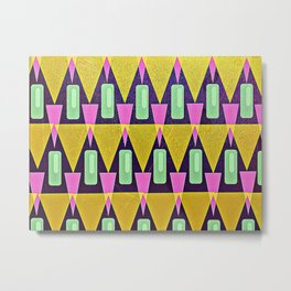 Velas pattern Metal Print