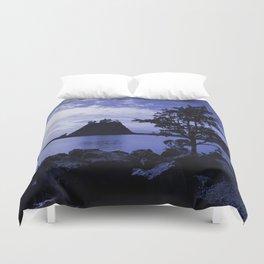 Deep Blue Duvet Cover