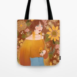 retro vibes Tote Bag