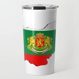 Bulgarian map Travel Mug