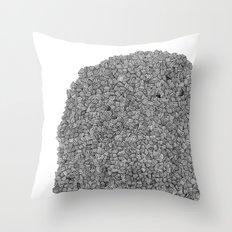 Straw Bean Throw Pillow