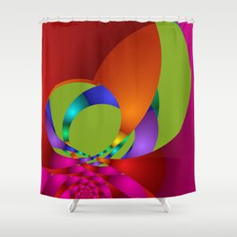 use colors for your home -13- Shower Curtain