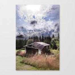 Broken house Canvas Print