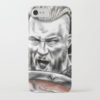 vikings iPhone & iPod Cases featuring vikings by Flyens