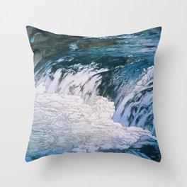 Yoshida Hiroshi - Torrent - Digital Remastered Edition Throw Pillow