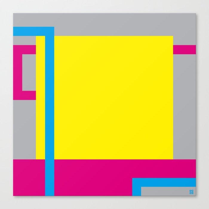 P.H. - Yellow Canvas Print
