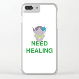 Need Healing genji Clear iPhone Case