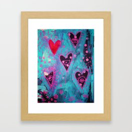 Watching You (They Are) Framed Art Print
