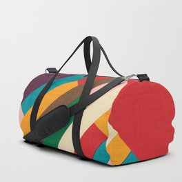 meridian purple Duffle Bag