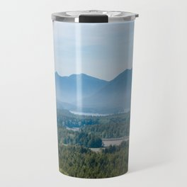 Misty Valley in Tofino - BC, Canada Travel Mug