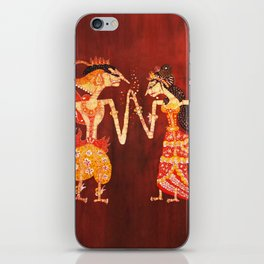The Dancing Shadows of Wayang Theatre: The Engagement iPhone Skin