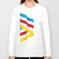 flag Long Sleeve T-shirts featuring Flag by Kexit guys