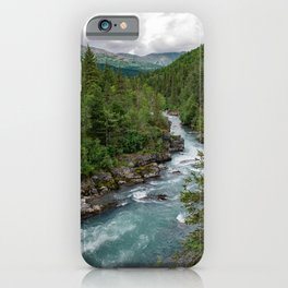 Alaska River Canyon - II iPhone Case