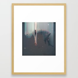 Falling Girl Framed Art Print