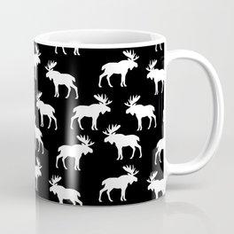 Moose Trot // Black Coffee Mug