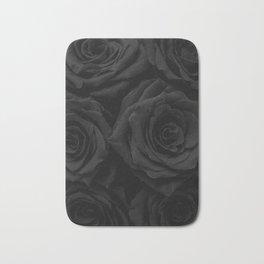 Coal Roses Bath Mat