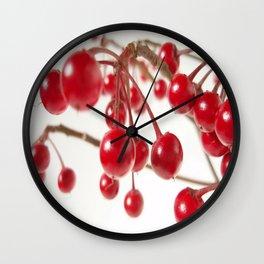 Ardisia Crenata Wall Clock