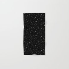 Constellations (Black) Hand & Bath Towel